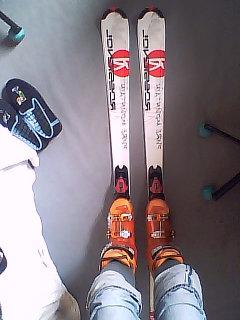 Prêt à skier!